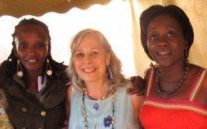Brenda Nakalembe, Leslee Goldstein, Judith Nassali