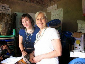 Lanie and mom at UWOPED